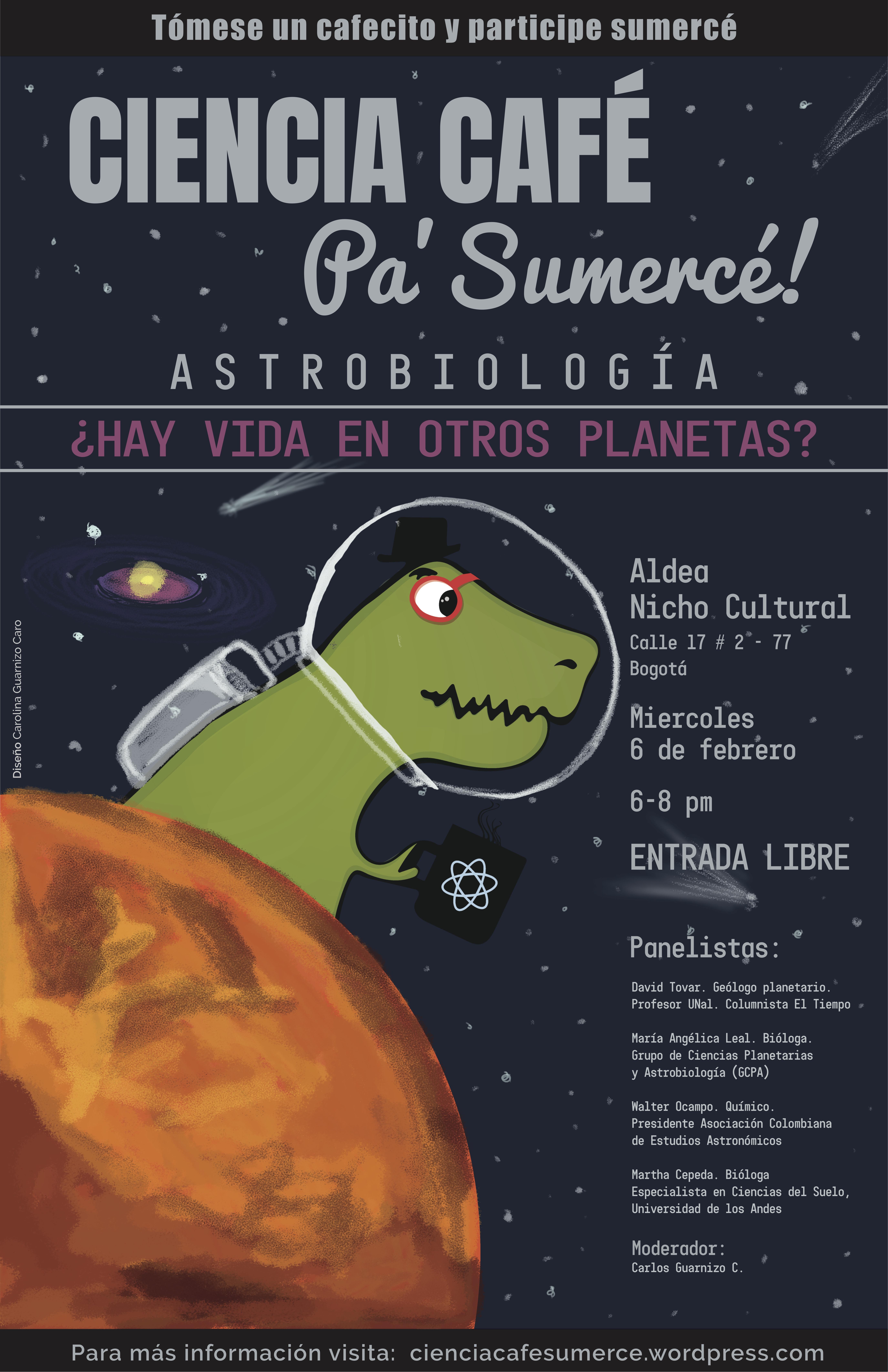 astrobiologia poster